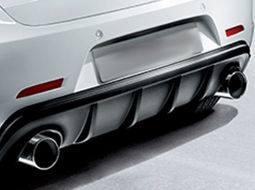 Exhaust tailpipes