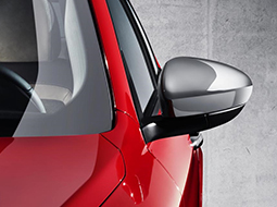 Wing mirrors and mirror covers