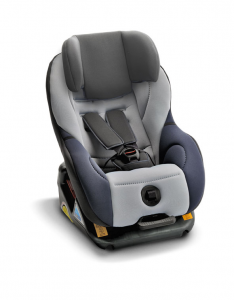 Additional headreast for isofix child seat