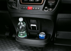 Front centre cup holder for Fiat Professional Ducato