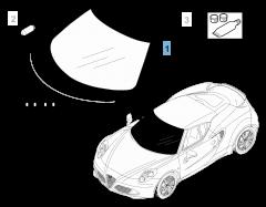 Windscreens for Alfa Romeo 4C