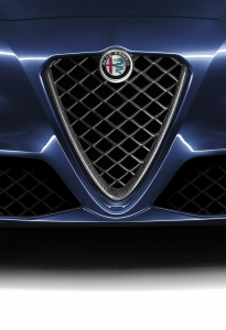 Front Grille With Carbon Fibre Insert For Quadrifoglio Version