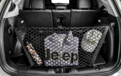Luggage compartment hold-up net for Jeep