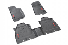 Rubber mats for Jeep Wrangler (4-door)