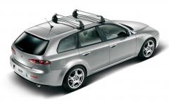 Aluminium roof bars for car for Alfa Romeo 159