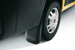 Mudguard rear rubber for Fiat Professional Ducato