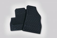 Rubber mats for Fiat Professional Fiorino