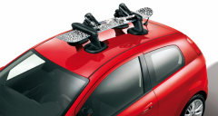 Magnetic ski and snowboard carrier for Fiat