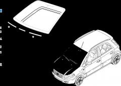 Windscreens for Fiat Sedici