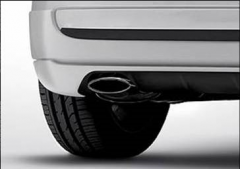 Chrome exhaust tailpipe for Fiat 500
