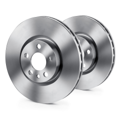 Frontal brake disc for Fiat Sedici