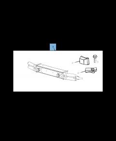 Front tubular bumper for Jeep Wrangler