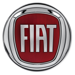 Fiat Logo (rear) for Fiat and Fiat Professional
