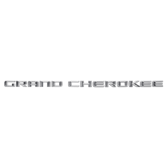 Front Door Grand Cherokee Logo for Jeep Grand Cherokee