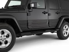 Rear doors claddings