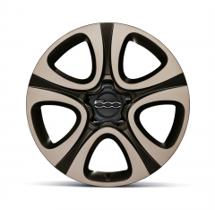 18'' Alloy Wheels Kit Bicolour Beige And Matt Bronze