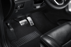Automatic aluminium pedal cover kit for Jeep Grand Cherokee