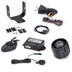 Volumetric anti-theft alarm system for Fiat Idea