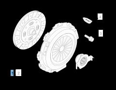 Clutch kit (clutch disc and pressure plate)