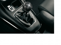 Carbon fibre gear knob