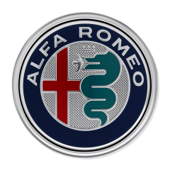 Alfa Romeo Logo (locking device) for Alfa Romeo Mito