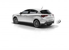 Volumetric anti-theft alarm system for Alfa Romeo Giulietta