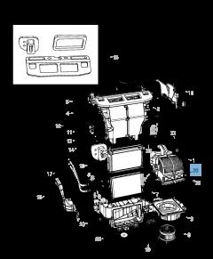 Cabin filter for Lancia Voyager
