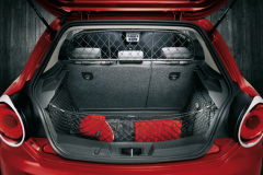Separation grille dog guard for luggage compartment for Alfa Romeo Mito