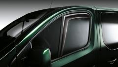 Front window air deflectors for Fiat Professional Talento