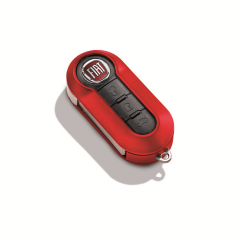 Bright red key cover for Fiat and Fiat Professional