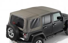 Sunrider for soft top 2 door version