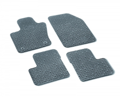 Rubber Mats With 500 Logo with Buttons passenger side Chassis Zfa3340000P753303