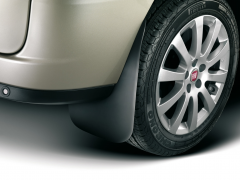 Rear rubber mudflaps mudguards for Fiat and Fiat Professional