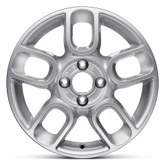 Alloy wheel 6J x 15'' H2 ET35 for Fiat 500