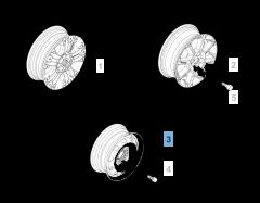 "5.5B x 14"" H2 ET 40 Steel rim for Fiat Professional Strada"