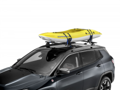 Roof kayak holder for Jeep Wrangler