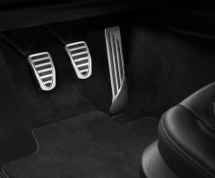Sport pedal set for manual transmission