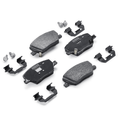 Front Disc Brake Pad (Set of 4) for Fiat and Fiat Professional