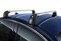 Aluminum roof carrier bars for Alfa Romeo Giulia