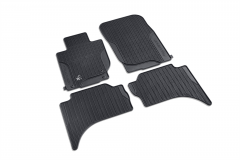 Rubber Car Mats for Fiat Professional Fullback (RHD)