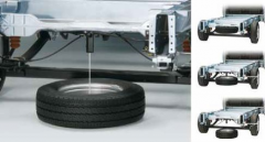 """Wheel lift kit 15"""" and 16"""" spare tyre kit"""