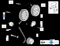 Timing belt for Alfa Romeo
