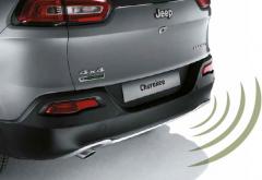Rear park distance sensors
