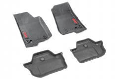 Rubber mats for Jeep Wrangler (2-door)