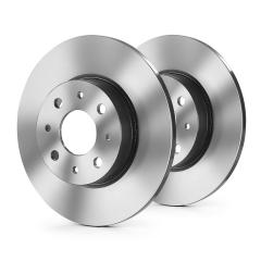 Rear brake disc for Fiat Sedici
