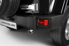 Exhaust tail pipe chrome