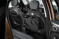 Storage pocket for rear seats for Fiat and Fiat Professional