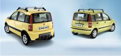 Mudguard rear rubber for Fiat Panda
