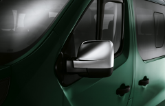 Chromed mirror covers for van for Fiat Professional Talento