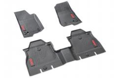 Rubber mats for Jeep Wrangler (4-door)